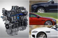 Új motor a Jaguar palettáján