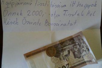 Meglepő cetlit kapott egy magyar autós, pénz is járt hozzá