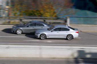 Melyik a jobb üzleti limuzin? BMW 5 vs. Mercedes E