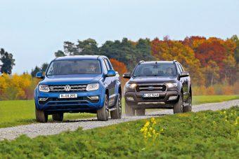 Nem csak munkagépnek- VW Amaraok vs. Ford Ranger
