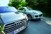 Egy Audi, ami veri a Porschét