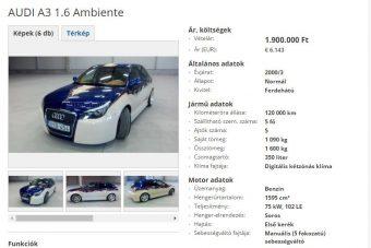 Elmondunk egy imát szerencsétlen Audi üdvéért