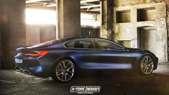 Magyar virtuáltuner vette kezelésbe a 8-as BMW-t