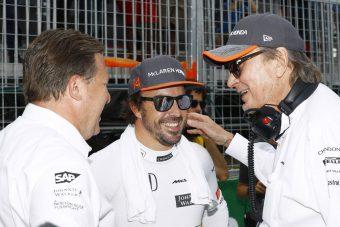 F1: Alonso imád a McLarennél versenyezni?