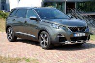 Itthon a Peugeot új hétszemélyes SUV-je
