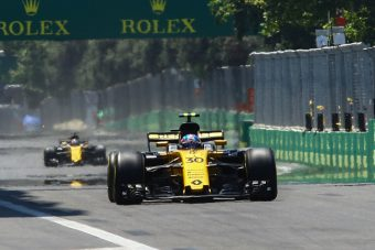 F1: Kubica átment a teszten, Palmert kirúgnák