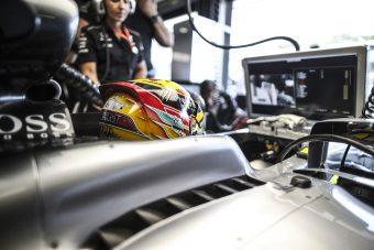 F1: Hamiltonnak nehéz napja volt