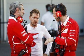 F1: Vettelnek érik egy maflás?