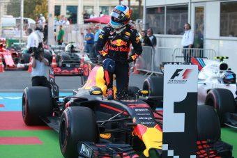 F1: Ricciardo elvinné az utolsó futamgyőzelmet