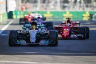 """F1: Vettel """"hülye"""" volt, de veszélytelen"""