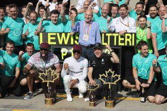 F1: Brutális éjszakai műszak ment a Mercinél
