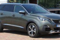 Itthon a Peugeot új hétszemélyes SUV-ja