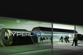 Hollandiában tesztelik a hyperloop rendszert