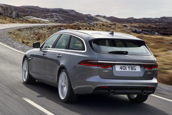 Videókon mutatjuk meg a Jaguar XF Sportbrake újdonságait