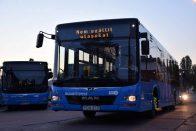 Új buszok álltak ma forgalomba Budapesten