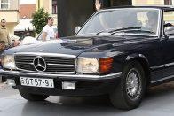 Ritka V8-as német belépő a veteránklubba