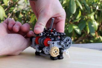 Zseniális a Legóból épített hatsebességes sebességváltó