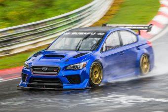 Ez a Subaru győzni ment a Zöld Pokolba, de a természet közbeszólt