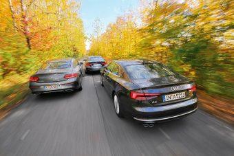 Szürke eminensek - BMW, Merci vagy Audi a nyerő?