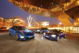 Luxus a versenypályán