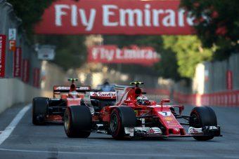 F1: Kimi óriási, sikítozva kiabált a Ferrarival