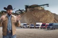 Chuck Norris reklámban szerepel, és pont olyan kemény, mint gondolod