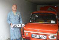 Próbálj meg nem sírni: apja 25 éve eladott Trabantját szerezte vissza, újította fel a fia