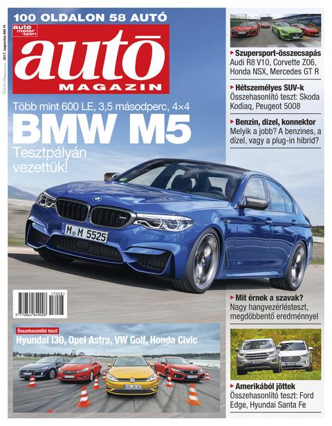Autó Magazin 2017 augusztus
