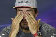 F1: Alonso torkig van az újságírókkal