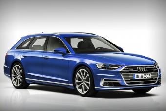 Kombi az Audi A8-ból? Itt van
