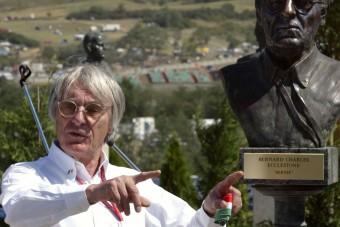F1: Ecclestone-t törölték a Hungaroring térképéről