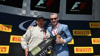 F1: A Magyar Nagydíjon újra pezsgőt kapnak a pilóták