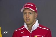 F1: Vettel elárulta, akar-e maradni a Ferrarinál