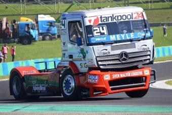 Nagypapa is rajthoz áll a kamion Európa-bajnokságon