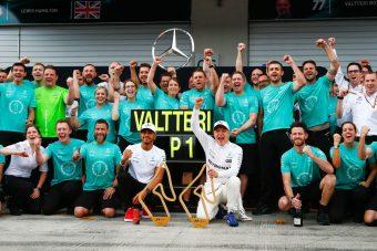 Hamilton: Bottas is bajnoki rivális