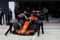 F1: Alonsónak most nem fájt úgy a kiesés