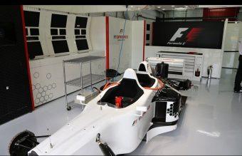 A kétüléses Forma-1-es már befutott a Hungaroringre