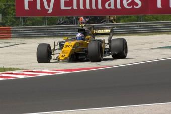 F1: Autótöréssel ért véget a hungaroringi edzés