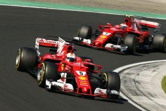 Vettel: Jó jel, hogy a riválisok másolják a Ferrarit