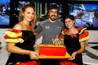 Alonso: Volt már jobb ajándékom!