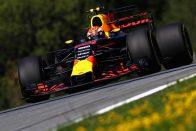 F1: Verstappen majdnem elkapta Hamiltont