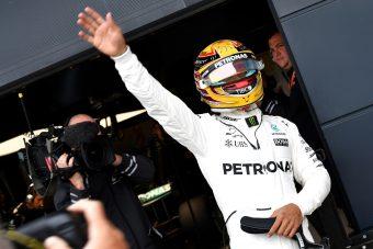 F1: Hamilton pole-rekordot hozott otthon