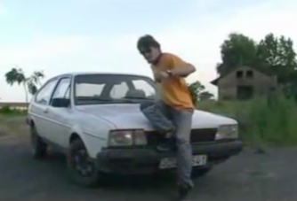 Soha nem látott német Lamborghini egy magyar parasztnál
