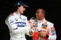 F1: Hamilton visszavárja Kubicát
