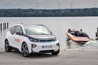 Vízre tették a BMW i3 hajtásláncát