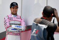 F1: Már tárgyalnak Perez szerződéséről