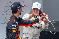 F1: Ricciardo ejtené a shoey-zást
