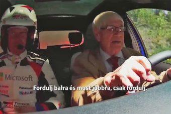 91 éves ralipilóta a Toyotánál