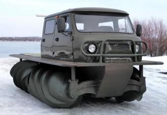 Újra feltűnt az orosz szörny a mocsarakban
