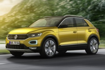Itt a Tiguan kistesója, a VW T-Roc